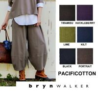 PACIFICOTTON Bryn Walker Pacific Cotton OLIVER PANT Balloon  1X 2X 3X  FALL 2018