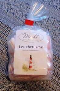 """Merkle """"Leuchttürme"""" handgemachte  Bonbons 125g"""