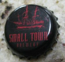 SMALL TOWN BREWERY WAUCONDA IL USED PLASTIC LINED BEER BOTTLE CAP