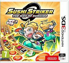 Sushi Striker The Way of the Sushido Nintendo 3DS 2DS New and Sealed!!