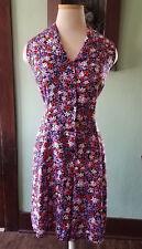 90s Floral Buttondown Culottes
