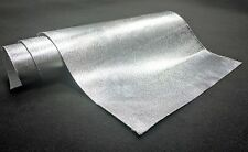 "39"" x 47'' Car Exhaust Heat Shield Barrier Aluminum-Fiberglass w/ Adhesive Layer"