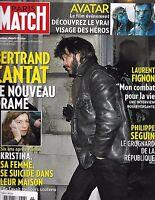 Paris Match Magazine Bertrand Cantat Avatar Laurent Fignon Philippe Seguin 2010