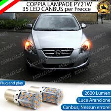 COPPIA LAMPADE PY21W CANBUS 35 LED KIA CEED C'EED + PRO MK1 FRECCE ANTERIORI