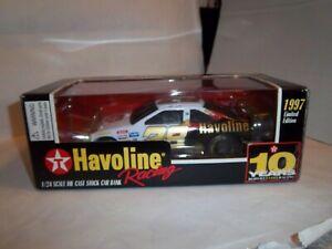 1/24 scale of Ernie Irvine 1997 Havoline Thunderbird Bank NMIB, very rare