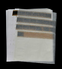 100 Pergamin Negativhüllen für 7x6er Streifen KB / Negativhuellen für Kleinbild