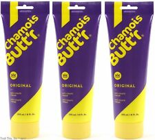 Three (3) Tubes Chamois Butt'r Original Cycling Cream Skin Lubricant 8oz Butter