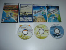 Microsoft flight simulator x gold inc accélération add-on pc dvd rom fsx deluxe