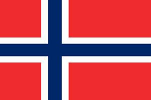 Norway nylon outdoor flag