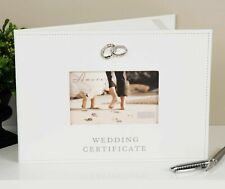 Wedding Certificate Folder Leatherette Amore