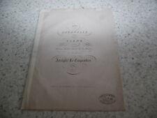 1850.17e bagatelle pour piano  .Partition.Lecarpentier