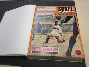 LO SPORT ILLUSTRATO anno 1957 COMPLETO 1 / 52 albi ORIGINALI !!