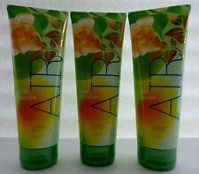 3 Pear Blossom Air Bath & Body Works Triple Moisture Body Cream 8 Oz ea New!