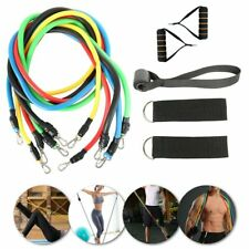 11Pc Resistance Band Loop Set STRONG Workout Fitness Elastic Exercise Pull Rope