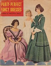 1960s VINTAGE WOMAN & HOME SEWING BOOKLET: PARTY PERFECT FANCY DRESSES