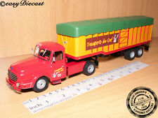 WILLEME LC-610 T 1:43 FRANCE TRUCK&TRAILER TRANSPORTS DU CERF CAMION 1952 ALTAYA