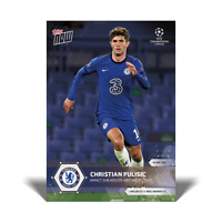 13K FB No Cancel - Christian Pulisic UCL Topps Now 2021 Card #76 UEFA Champions