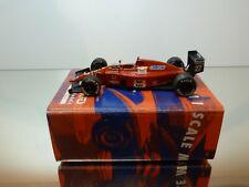 TAMEO TMK089 FERRARI F1/89  G.P. BRASIL 1989 MANSELL F1 RED 1:43 - GOOD IN BOX