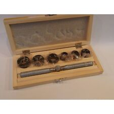 Chiave apri casse Rolex 6 teste con custodia Rlx Tudor millerighe orologiaio