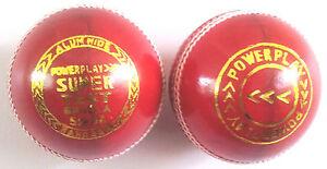 Cricket Balls - Super Test Red (Alum Hide)