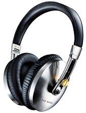 Ted Baker London Rockall High-Performance Folding Over-Ear Headphones Black NEW