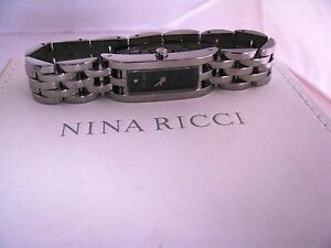 Nina Ricci ladies watch N007.12.47.1 Brand New