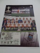 ST MIRREN FC 1987 SCOTTISH CUP FINAL WINNERS TEAM A4 MONTAGE PRINT