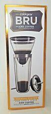 Iced Coffee Maker Single Serve Cold Brew Drip Method Cool Gear Bru 14 Oz