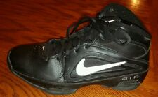 Nike Air Visi Pro 3 womens black high top basketball shoes size 9.5