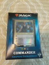 Magic the Gathering 2018 Commander Deck Adaptive Enchantment Factory Sealed