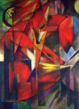 'La Volpe quadro - Stampa d''arte su tela telaio in legno'