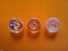 3pcs x 15, 45, 60 degrees Lens for CREE XHP50, XM-L2 XML LED