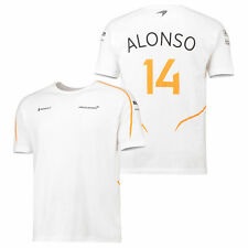 McLaren Official 2018 Fernando Alonso T Shirt Tee Top Ventilation Mens Fanatics