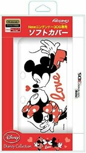Disney Mickey & Minnie Soft Cover for ''NEW Nintendo 3DS ''(NOT 3DS LL)