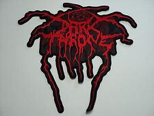 DARKTHRONE RED LOGO  EMBROIDERED BACK PATCH