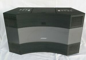 Bose Acoustic Wave Music System II AM/FM CD Player Graphite Radio CD Works Great