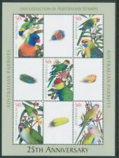 Australia: 2005 PARROTS Miniature sheet only available in PO Year album. MUH