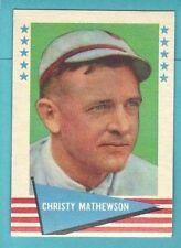 1961 Fleer Baseball Greats #59 Christy Mathewson