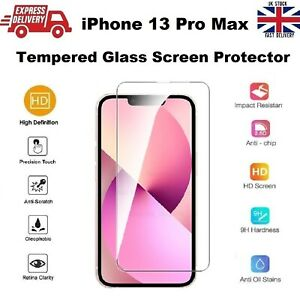 Full Edge to Edge Screen Protection REAL Tempered Glass for iPhone 13 PRO MAX
