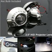 2.5'' LHD H1 Xenon HID Headlight Projector Lens Retrofit Hi/Low Beam For BMW