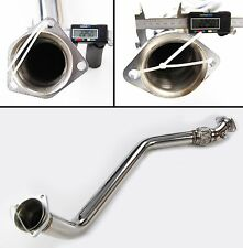 STAINLESS STEEL EXHAUST CAT REMOVAL DOWNPIPE FOR BMW E46 3 SERIES 320d M47 98+