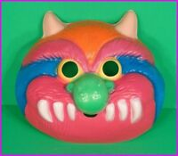 MY PET MONSTER Halloween Adult COSTUME MASK Colorful Fun Ben Cooper 1986 NEW