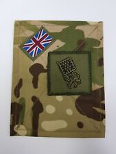 Genuine British Military MTP Blanking Patches Panel Plain With Flag and GMACF