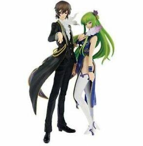 Code Geass EXQ figure Lelouch Lamperouge & C.C. set BANPRESTO Anime