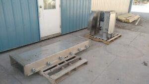 "Stainless Steel 4"" X 6"" Bucket Elevator Leg ( bucket conveyor )"