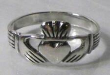 Sterling Silver claddagh Ring Sizes 8, 9   S744