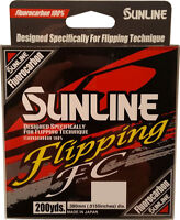 Sunline Fishing Line - Sunline Flipping Fc Fluorocarbon 200 Yard Select Lb Test