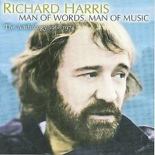 The Anthology 1968-1974: Man of Words * by Richard Harris (CD, Mar-2008, Raven)
