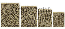 LEOPARD LOT OF 100 PAPER GIFT BAGS  & JEWELRY BAGS
