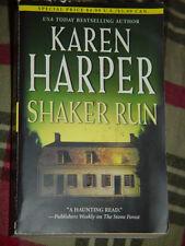 Karen Harper Shaker Run Paperback 2004
